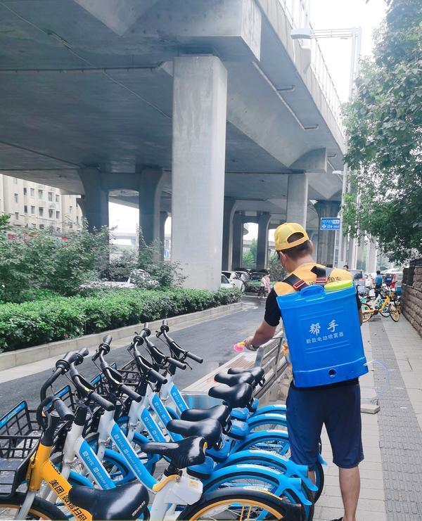 雨后郑州市的骑行活跃度高于往年同期水平